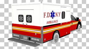 New York City Fire Department Bureau Of EMS Emergency Medical Services Ambulance Emergency Vehicle PNG