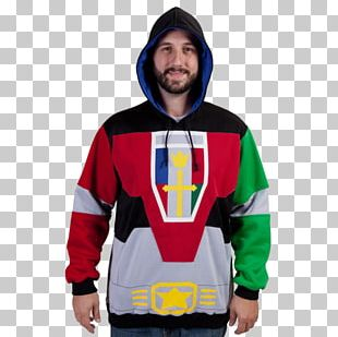 Hoodie Voltron T-shirt Costume 1980s PNG