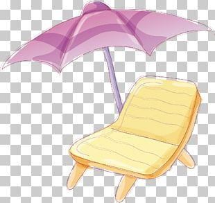 Umbrella Beach Chair PNG