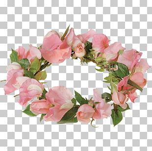 Floral Design Wreath Cut Flowers Crown PNG