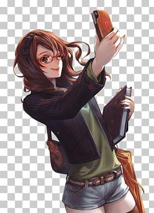 Anime Manga Catgirl PNG