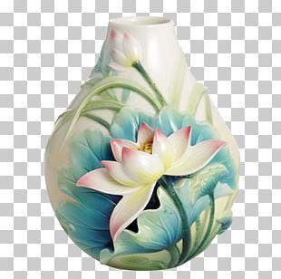 Vase Franz-porcelains Artist Trading Cards Ceramic PNG