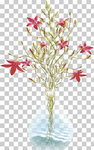 Cut Flowers Vase Floral Design Flowerpot PNG