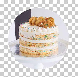 Confetti Cake Buttercream Birthday Cake Chiffon Cake Bakery PNG