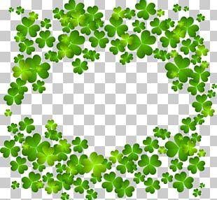 Ireland Four-leaf Clover Shamrock PNG
