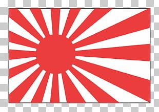 Empire Of Japan Rising Sun Flag Decal Sticker PNG