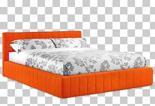 Bed Frame Mattress Box-spring Headboard PNG
