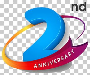 Logo Wedding Anniversary Party PNG
