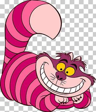 Alice's Adventures In Wonderland Cheshire Cat Caterpillar Red Queen PNG