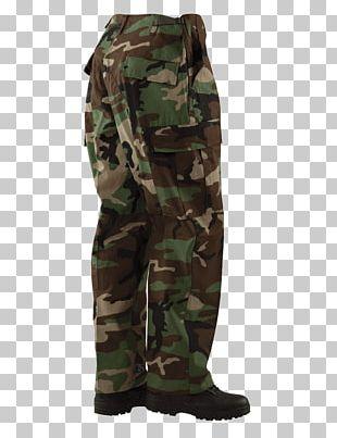 Military Camouflage Battle Dress Uniform Army Combat Uniform Pants PNG