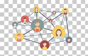 Social Network Digital Marketing Social Media Computer Network PNG