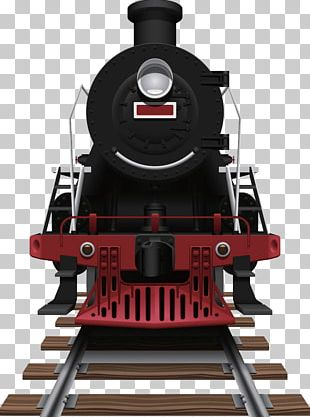 Train Rail Transport Steam Locomotive Illustration PNG