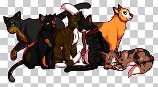 Cat Illustration Tail Legendary Creature Animated Cartoon PNG