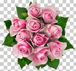 Flower Bouquet Rose Pink Flowers PNG