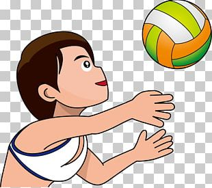 Beach Volleyball Drawing PNG