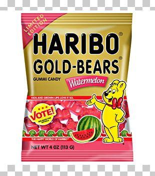 Gummi Candy Gummy Bear Haribo Flavor PNG