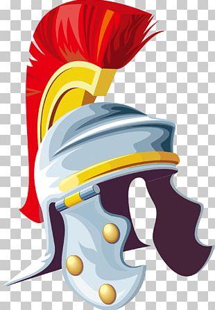 Helmet Warrior PNG