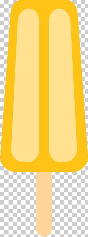 Ice Cream Ice Pop Yellow Drawing PNG