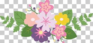 Flower Ribbon PNG