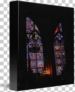 Stained Glass Notre-Dame De Paris Cathedral Material PNG