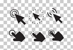 Computer Mouse Arrow Button Icon PNG