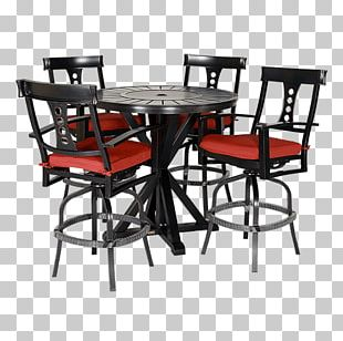 Table Garden Furniture Chair Patio Bar Stool PNG