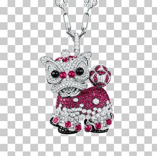 Jewellery Necklace Locket Watch Qeelin PNG