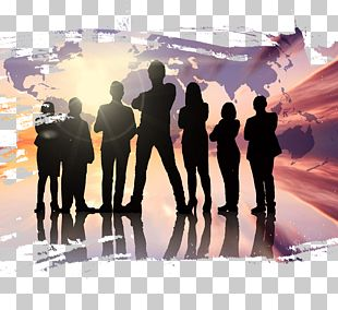 Teamwork Collaboration Poster PNG