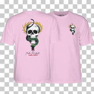T-shirt Powell Peralta Skateboarding Sleeve PNG