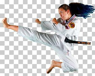 Karate Dobok Taekwondo Flying Kick PNG