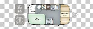 Airstream Caravan Campervans Floor Plan Trailer PNG