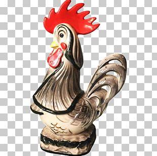Rooster Figurine Chicken As Food Beak PNG