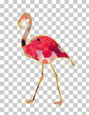 Flamingo Pink Pillow Nursery PNG