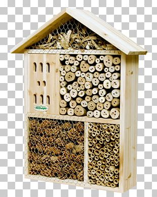 Insect Hotel Western Honey Bee Garden PNG