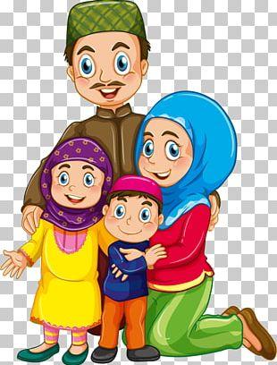 Muslim Islam Family PNG