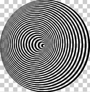 Optical Illusion Optics Circle Eye PNG