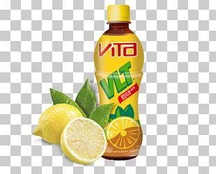 Green Tea Vita Drink Lemon Tea PNG