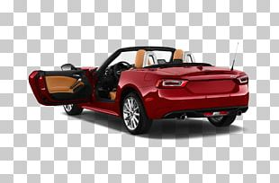 Fiat 124 Sport Spider Car Mazda MX-5 Chrysler PNG
