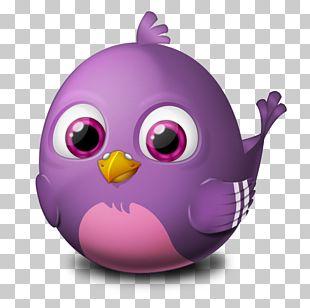 Purple Violet Easter Egg Beak PNG