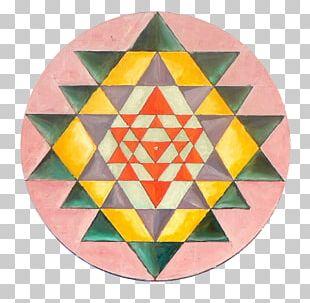 Sri Yantra Chakra Mandala Sacred Geometry PNG