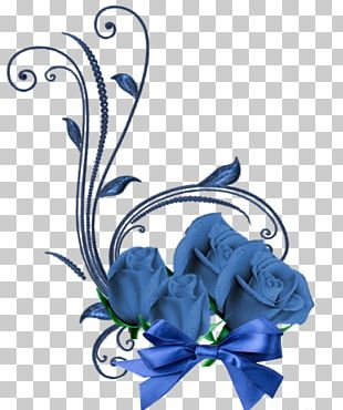 Blue Rose Floral Design Cut Flowers Flower Bouquet PNG
