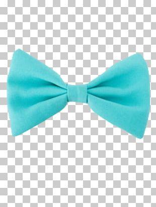 Bow Tie Necktie Turquoise Blue Bolo Tie PNG