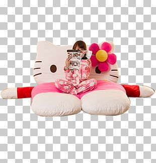 Hello Kitty Bed Mattress Couch Tatami PNG