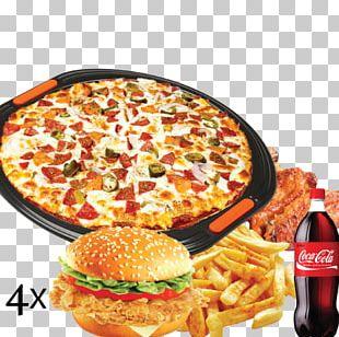 Pizza American Cuisine Hamburger Junk Food Paratha PNG