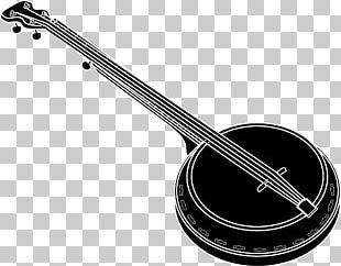 Banjo Drawing Musical Instruments PNG