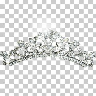 Tiara Imitation Gemstones & Rhinestones Crown Diamond Diadem PNG