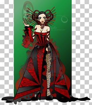 Queen Of Hearts Red Queen Playing Card PNG