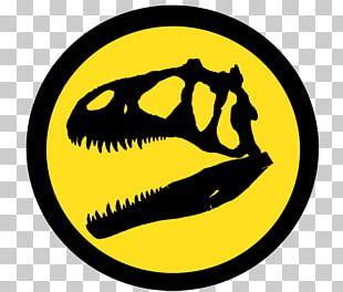 Allosaurus Jurassic Park Logo YouTube PNG