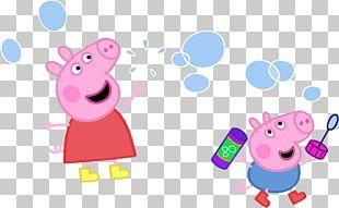 Daddy Pig Thomas Peppa Pig Bubbles Drawing PNG