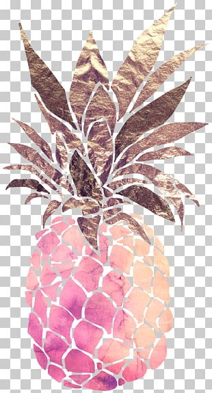 Pineapple Upside-down Cake Watercolor Painting Drawing PNG